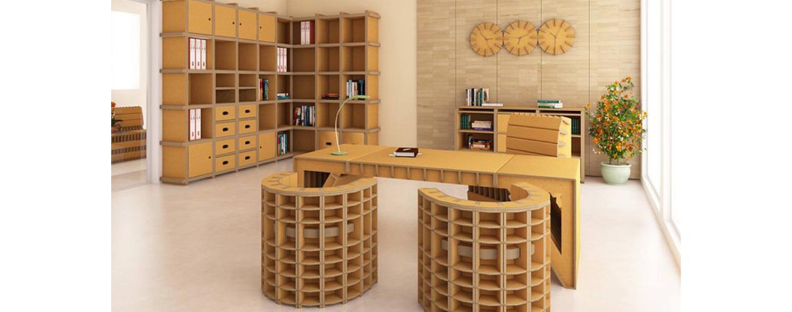 kartonm bel m bel aus paletten pappm bel. Black Bedroom Furniture Sets. Home Design Ideas