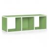 3er Cube quer grün
