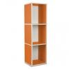3er Cube hoch orange