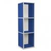3er Cube hoch blau