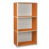 3er Cube breit orange